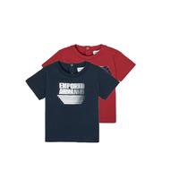 Textil Chlapecké Trička s krátkým rukávem Emporio Armani 6HHD22-4J09Z-0353