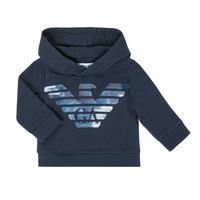 Textil Chlapecké Mikiny Emporio Armani 6HHMA9-4JCNZ-0922 Tmavě modrá