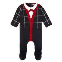 Textil Chlapecké Pyžamo / Noční košile Emporio Armani 6HHD12-4J3WZ-F912 Tmavě modrá