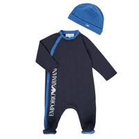 Textil Chlapecké Pyžamo / Noční košile Emporio Armani 6HHV12-4J3CZ-0922 Tmavě modrá