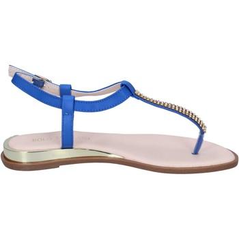 Boty Ženy Sandály Solo Soprani Sandály BN778 Modrý
