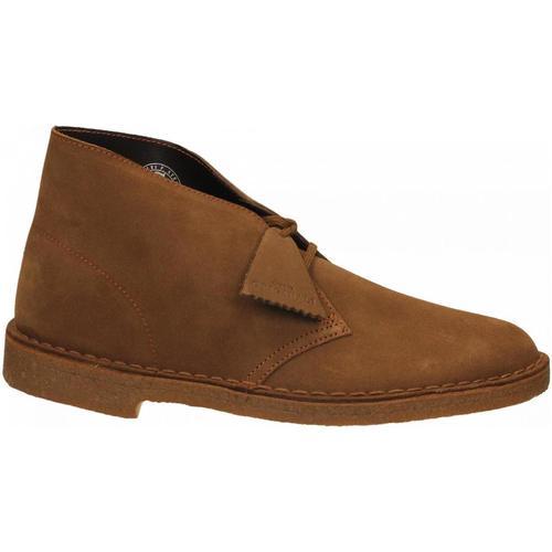 Boty Muži Kotníkové boty Clarks DESERTBOOT M cola