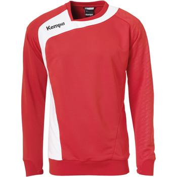 Textil Děti Mikiny Kempa Training top  Peak rouge/blanc