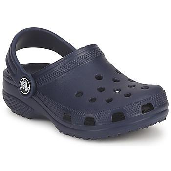 Boty Děti Pantofle Crocs CLASSIC KIDS Tmavě modrá