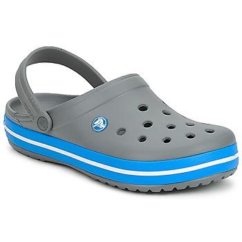 Boty Pantofle Crocs CROCBAND Šedá