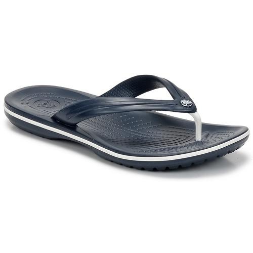 Boty Žabky Crocs CROCBAND FLIP Tmavě modrá