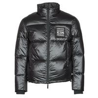 Textil Muži Prošívané bundy Armani Exchange 8NZBP2 Černá
