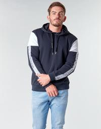 Textil Muži Mikiny Armani Exchange 6HZMFD Černá / Bílá
