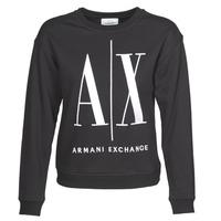 Textil Ženy Mikiny Armani Exchange 8NYM02 Černá