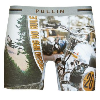 Spodní prádlo  Muži Boxerky Pullin FASHION LYCRA Modrá