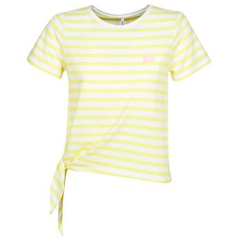 Textil Ženy Trička s krátkým rukávem Only ONLBRAVE Žlutá