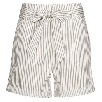 Textil Ženy Kraťasy / Bermudy Vero Moda VMEVA Bílá / Modrá