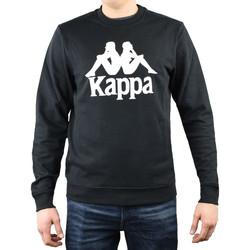 Textil Muži Mikiny Kappa Sertum RN Sweatshirt 703797-19-4006 noir