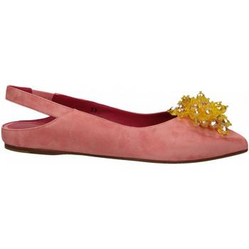 Boty Ženy Baleríny  181 GAROFANO CAMOSCIO rosa