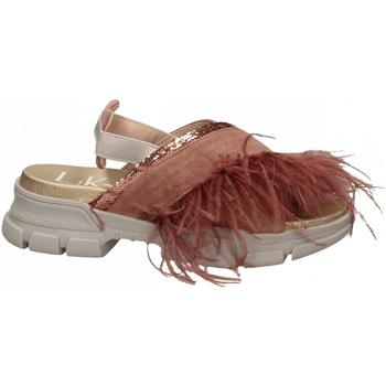 Boty Ženy Sandály L4k3 SANDAL PIUME STRUZZO rosa