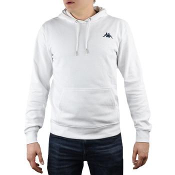 Textil Muži Mikiny Kappa Vend Hooded 707390-11-0601 blanc