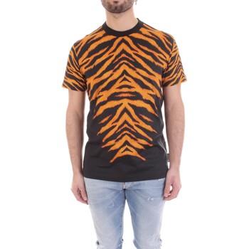 Textil Muži Trička s krátkým rukávem Versace B3GVB7DF-30377 Černá
