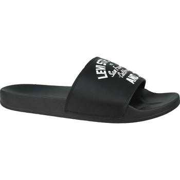 Boty Muži pantofle Levi's June California noir