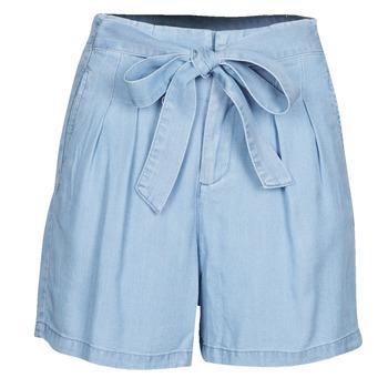 Textil Ženy Kraťasy / Bermudy Vero Moda VMMIA Modrá