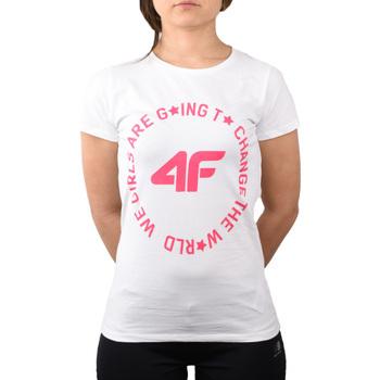 Textil Děti Trička & Pola 4F Girl's T-shirt HJL20-JTSD013A-10S