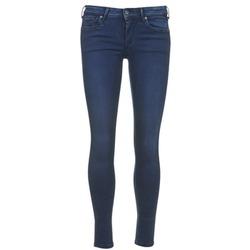 Textil Ženy Tříčtvrteční kalhoty Pepe jeans LOLA Modrá