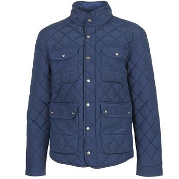 Textil Muži Prošívané bundy Pepe jeans HUNTSMAN Tmavě modrá