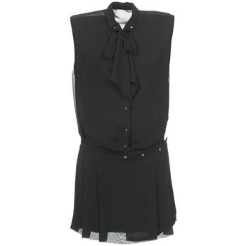 Diesel Krátké šaty D-NEDORA-A - Černá