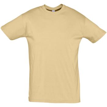 Textil Muži Trička s krátkým rukávem Sols REGENT COLORS MEN Marrón