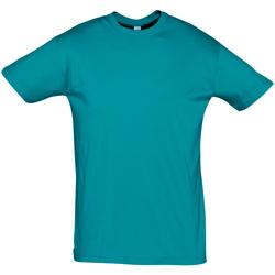 Textil Muži Trička s krátkým rukávem Sols REGENT COLORS MEN Azul