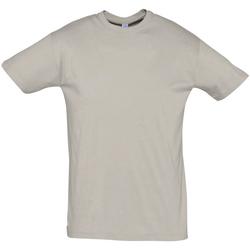 Textil Muži Trička s krátkým rukávem Sols REGENT COLORS MEN Gris