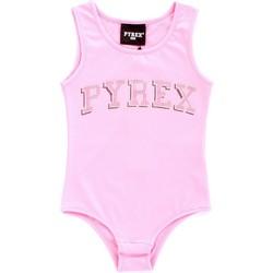 Textil Dívčí Tílka / Trička bez rukávů  Pyrex 024858 Růžová