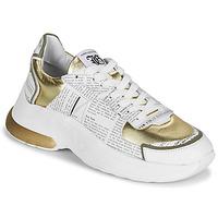 Boty Ženy Nízké tenisky John Galliano 3646 Bílá / Zlatá