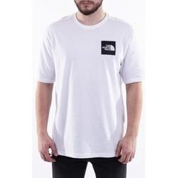 Textil Muži Trička s krátkým rukávem The North Face Mos Tee bílá
