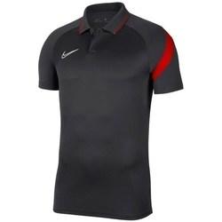 Textil Muži Polo s krátkými rukávy Nike Dry Academy Pro Černé