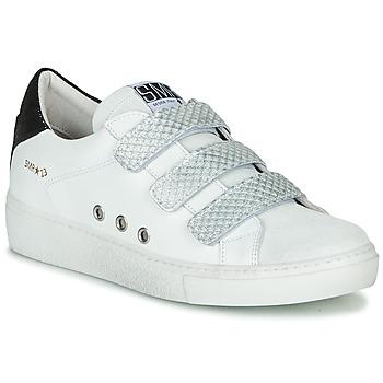 Boty Ženy Nízké tenisky Semerdjian VIP Bílá / Stříbrná