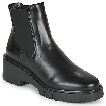 Boty Ženy Kotníkové boty Unisa JEROME Černá