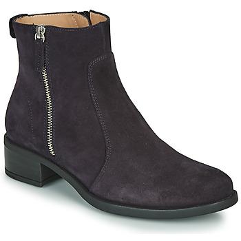 Boty Ženy Kotníkové boty Unisa EBRAS Tmavě modrá