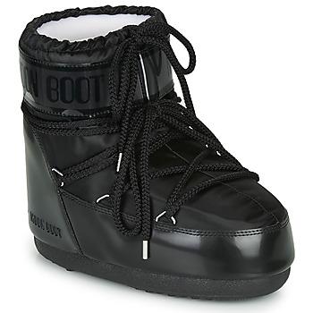 Boty Ženy Zimní boty Moon Boot MOON BOOT CLASSIC LOW GLANCE Černá