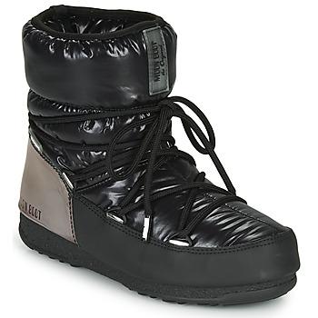 Boty Ženy Zimní boty Moon Boot MOON BOOT LOW ASPEN WP Černá