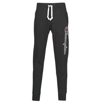 Textil Muži Teplákové kalhoty Champion HEAVY COMBED COTTON Černá