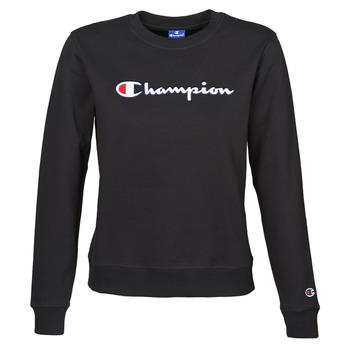 Textil Ženy Mikiny Champion HEAVY COMBED COTTON FLEECE Černá