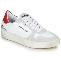 Boty Ženy Nízké tenisky Meline STRA5007 Bílá / Červená