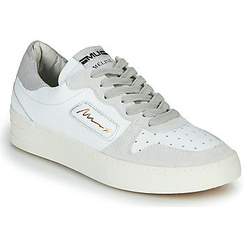 Boty Ženy Nízké tenisky Meline STRA-A-1060 Bílá / Béžová