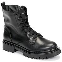Boty Ženy Kotníkové boty Bullboxer 610504E6L_BKC Černá