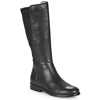 Boty Dívčí Kozačky Acebo's 9864-NEGRO-T Černá