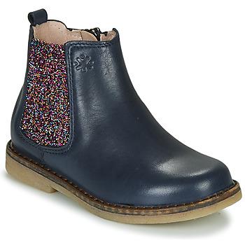 Boty Dívčí Kotníkové boty Acebo's 5274-MARINO-J Tmavě modrá