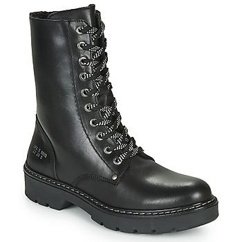 Boty Dívčí Kotníkové boty Bullboxer AON523E6L-BKGY Černá