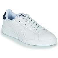 Boty Nízké tenisky Diadora GAME L LOW OPTICAL Bílá / Modrá