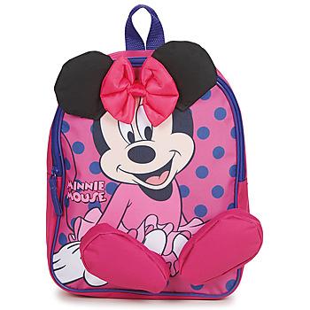 Taška Dívčí Batohy Disney BACKPACK MINNIE Růžová