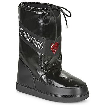 Boty Ženy Zimní boty Love Moschino JA24022G1B Černá